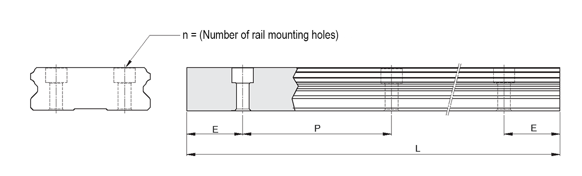 Standard and maximum length of Hiwin's rail of QW series