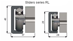 Slider of RL series