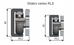 Slider of RLS series
