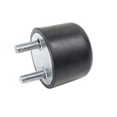 Rubber-metal vibration damper of ZLRA-2G series